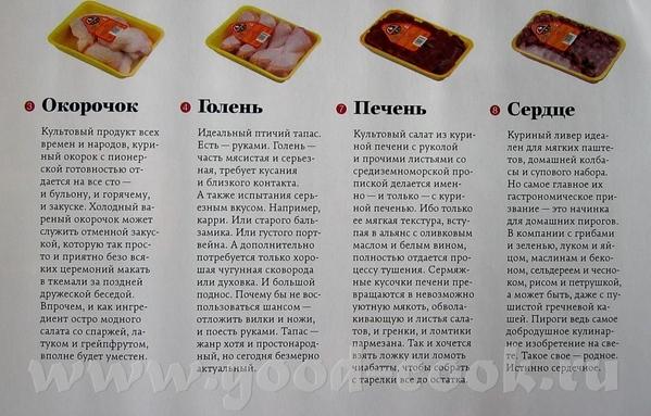 Нашла в журнале правила применения куриных запчастей - 2