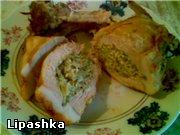 лови: Свиная котлета с начинкой из творога и зелени, запеченная в фольге Взять свиную котлету (мясо...