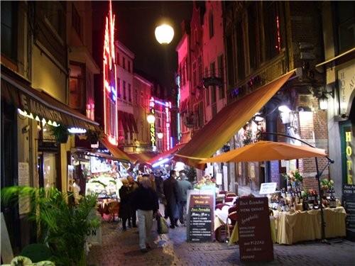 В другие выходные мы гуляли по Брюсселю