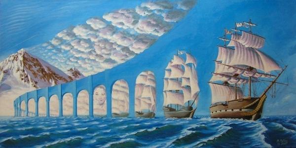 Хочу познакомить вас с другим художником Виталий Рубан Вот его сайт А вот некоторые работы - 4