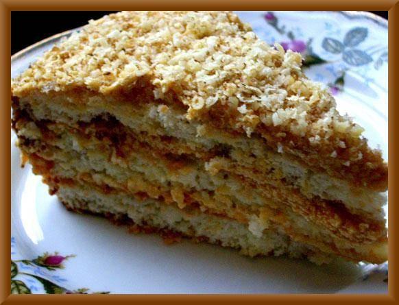 А это один из вкуснейших тортов,что может быть