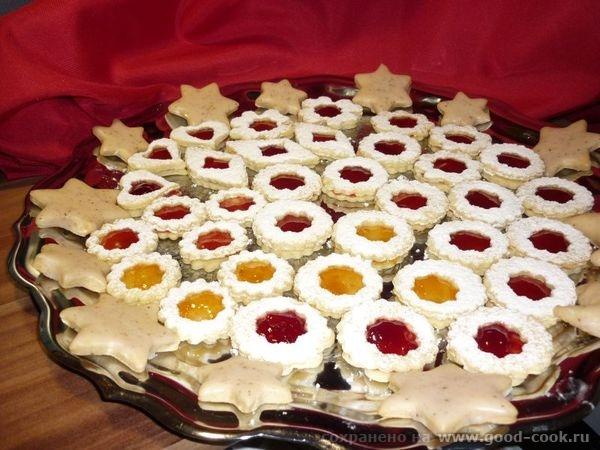 печенья рождественские