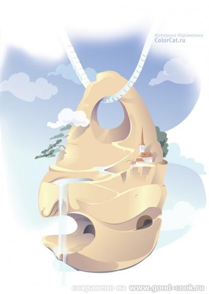 1 июля день Куриного Бога Мне всегда казалось, что камень с дырочкой внутри - это что-то не обычное