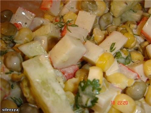 Полюбившийся моей семье Тыквенный суп от Салат Крабовая Фиеста от Jazzinitup-Ириши, спасибо,вкусно - 2