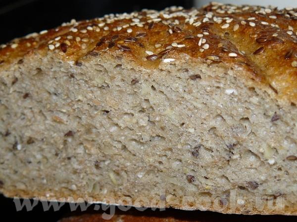 """Хлеб """"Солнечный"""" - Saatensonne Закваска, 15-18 часов стоять: 100 г ржаной муки(тип 1150) 110 г воды... - 2"""