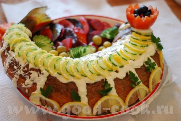 Алиса, принесла огромное спасибо за очень вкусный хлеб ПЕРСТЕНЬ ПРЕЛАТА , И еще спасибо за ФАРШИРОВ... - 3