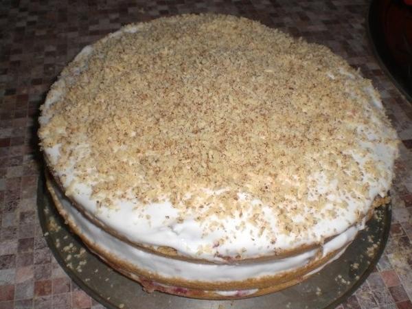 Клубничный тортик - 4