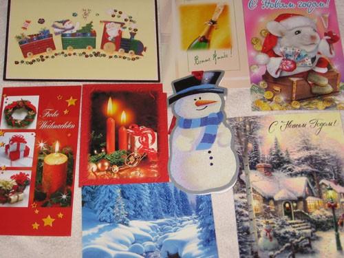 А я хочу свою галерею открыток показать: