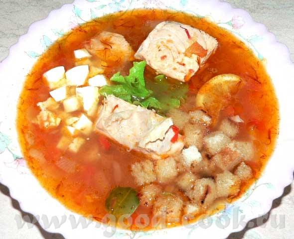 Рыбный суп от испанской свекрови Ады 500 гр рыбного филе (не морожено-размороженного, а охлажденног...