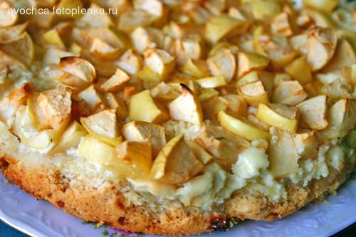 Кукурузный пирог по мотивам рецепта Творожная ватрушка по рецепту с розового форума: - 2