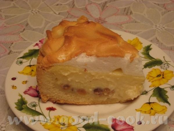 Несу Лене спасибо за Сметанный пирог В начинку использовала творожную массу с изюмом - 2