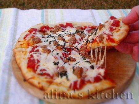 Пицца от Alina (2 темы) Заходите ко мне в гости