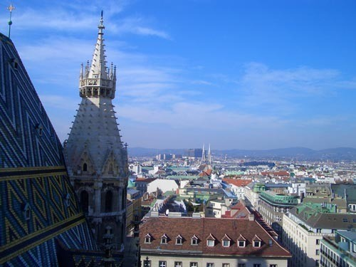 Хочу показать вам главную достопримечательность Вены- Собор Святого Стефана - 3