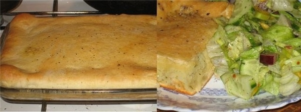 Картофельный пирог по наводке от Лоры Chajka 12ч* Девочки, так тут Лора вкусно рассказывала про это...