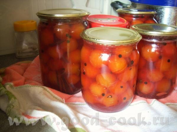 Пряные сливы в маринаде Вяленые томаты (в духовке) Хранение базилика в масле