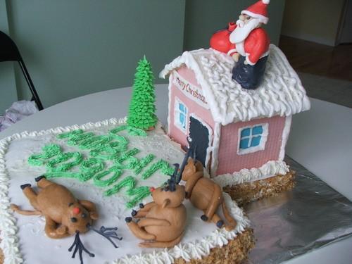 очень очень очень симпатичные и новогодние торты - 2