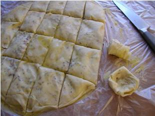 Шоргогалы - слоеные солёные булочки от Гюли - 3