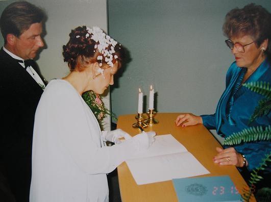 Сегодня наш первый свадебный юбилей