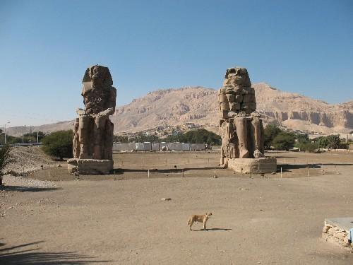 Вид с храма Хадшипсут - 2
