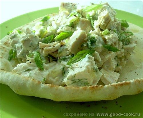 Наташа, принимай спасибо за Куриный салат по-гречески