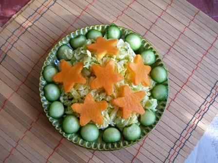 А у меня совсем простые салатики, однако аппетит пробуждают зверский - 2