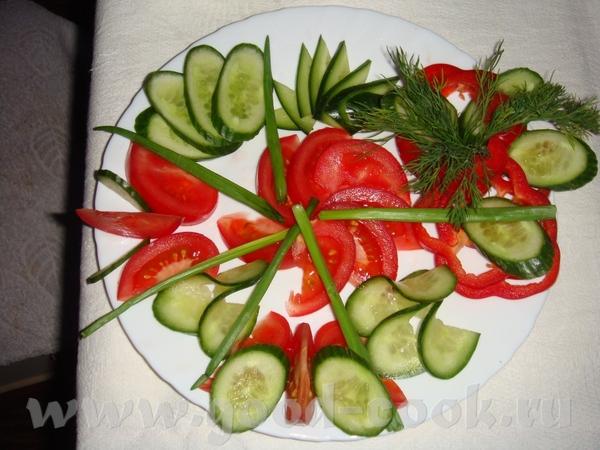 """селедка под шубой, с вот такой коровкой мимоза с горбушей крабовый салатик с грибами """"оливье"""" салат... - 6"""
