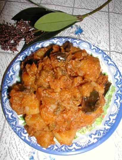 Бадымджан чихыртмасы - поджарка из баклажанов от Гюли - 3