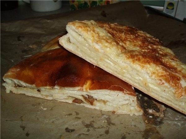 МНЫШ с сыром и МНЫШ со шкварками и жареным луком (предыстория - хлеб такой покупала в супермаркете,... - 2
