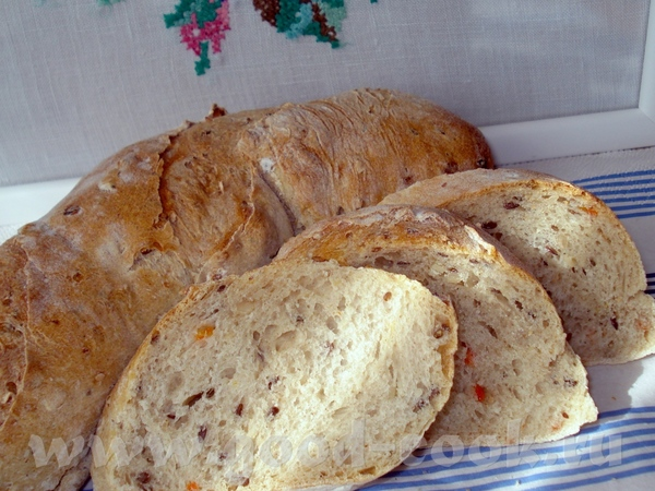 Благодарю за прекрасный рецепт Альпийские багеты с злаковыми добавками на ржаной закваске Насте - Л...