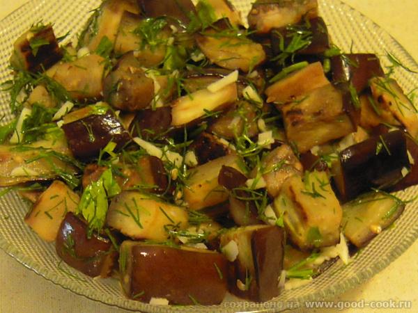 """Блюда от nastia, """"Настя и школа"""": баклажаный салат Паста с лук-пореем и грибами"""""""