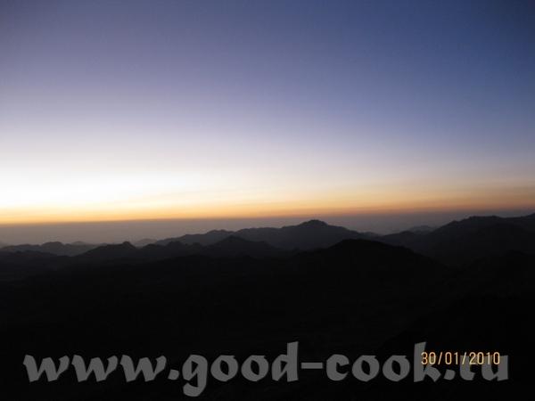 ну и конечно самым главным впечатлением было паломничество на гору Моисея - 4
