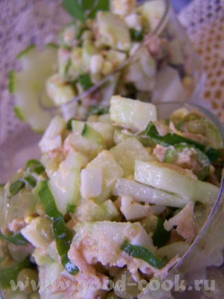 Рыбный салат с горошком от Вalерия ( с РП ) - 2