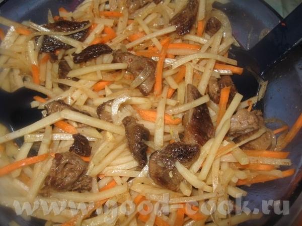 КАРТОФЕЛЬНО - МЯСНОЙ САЛАТ (по корейским мотивам) Сытный и вкусный салатик из картофеля с мясом, мо...