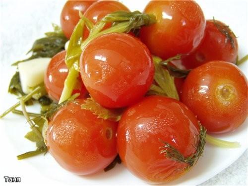 """Маринованые помидоры """"Шерри"""""""