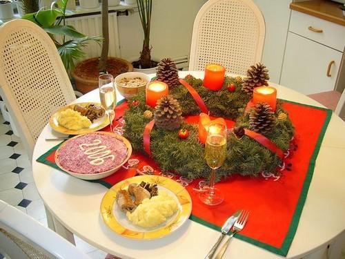 Мы Новый Год встречали в ресторане, а 1 января скромно пообедали дома вдвоём - 2