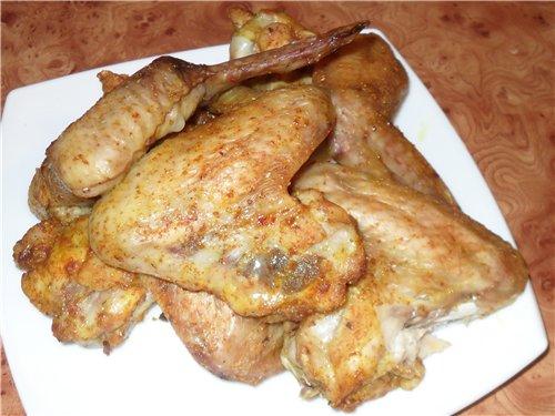 Острые куриные крылья - куриные крылья 1,3 кг