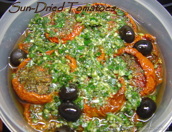 Sun – Dried Tomatoes. Вяленые томаты.