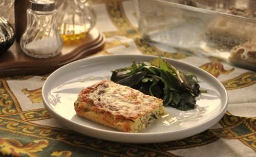 нежная, пикантная, ароматная запеканка, на завтрак или ужин, со сметаной или с салатом - 2
