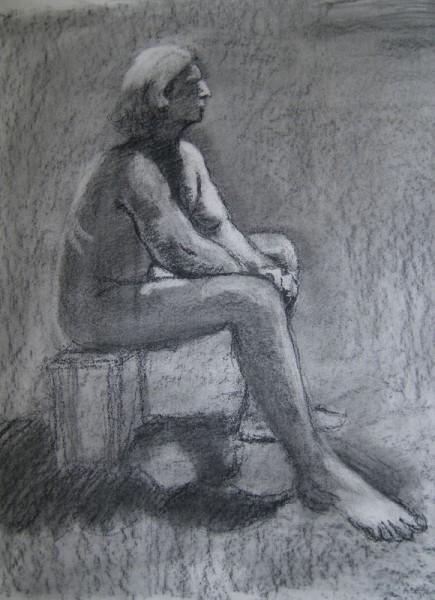 Ща я вам навалю своих рисунков Figure drawing типа надо было вписать в лист, чтобы фигура касалась... - 3