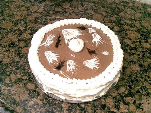 """Решила спечь торт """"Зебра"""" по рецепту своих подростковых записей,но так увлеклась украшением,что и н... - 4"""