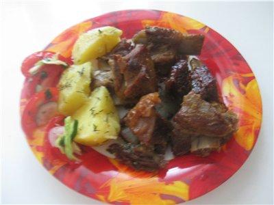 Аня спасибо за рецепт Свиные рёбра в глазури Нам было вкусно , правда у меня были телячьи