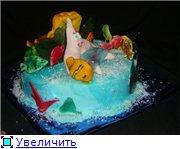 торт губка Боб торт планета - 4