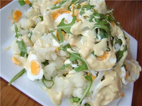 капуста с яйцом рецепт салат
