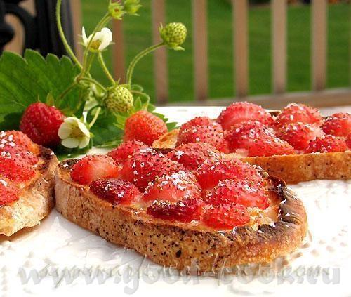 Сегодня утром я сделала вот такие ягодные канапе - 2