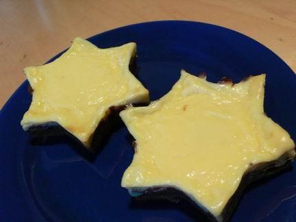 вот несу обещанный Кофейный чизкейк , точнее порционные мини-чизкейки А тут разрезик: ну что сказат...