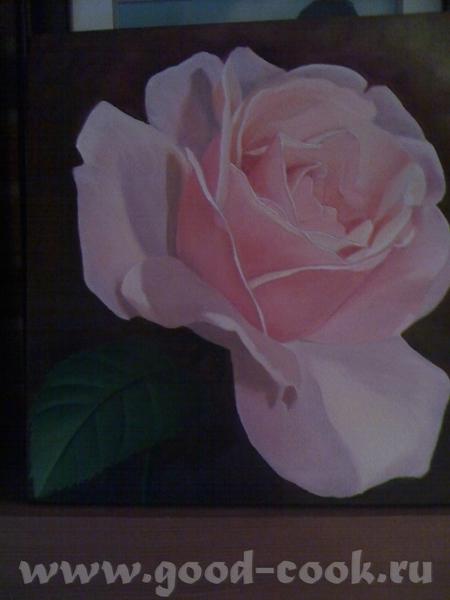 Показываю мои розы, рисую триптих - 3