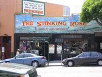 Район North Beach, кажется - маленькая Италия и ресторанчик Stinking Rose, где все блюда из чеснока