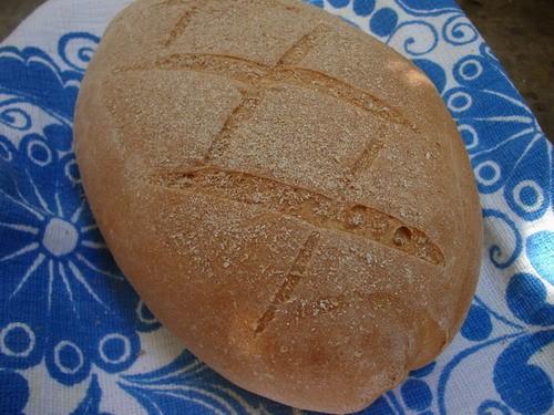 Сегодня испекла мой первый хлебушек