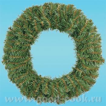 Рождественские хвойные венки и гирлянды - настоящие символы праздника