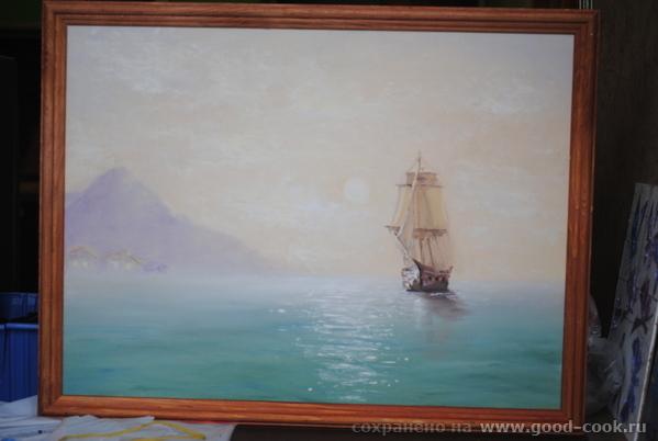 море с корабликом (Сахаров)